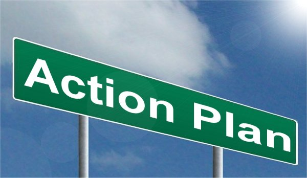 Action plan, business plan, vision, clarity