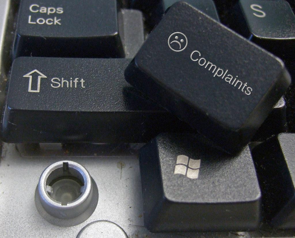 complaint, customer satisfaction