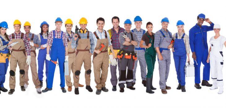trades people, plumber, builder, engineer, electrician